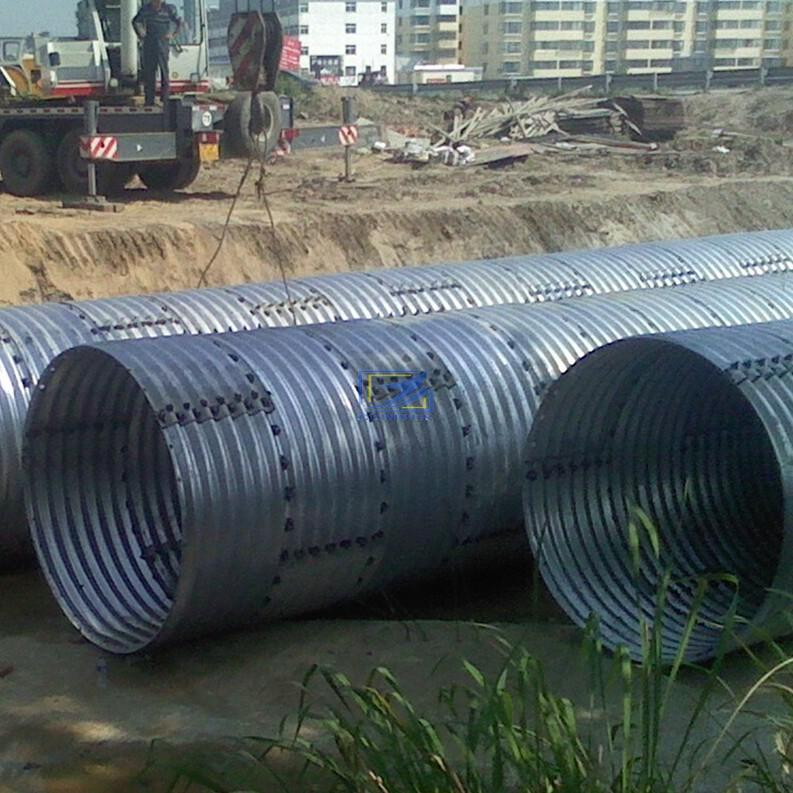 wholesale the corrugated steel pipe in Ethiopia
