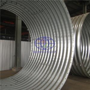 supply corrugated steel culvert pipe to Momobasa,Kenya