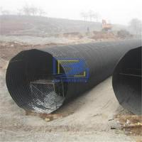 corrugated culvert pipe made from hot galvanzied steel plate