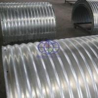 corrugated steel culvert and pipe used in mine site