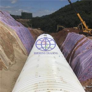 corrrugated steel culvert with AASHTO M36 standard