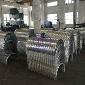 Armco type  T68 corrugated steel culvert pipe to Africa