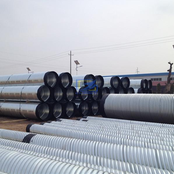 Corrugated steel culvert pipe sizes