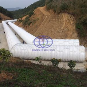 corrugated steel culvert pipe coated with the DHPE