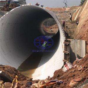 corrugated steel culvert pipe made in China