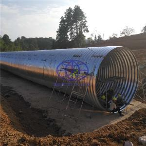supply corrugated steel culvert pipe to Sarawak, Malaysia