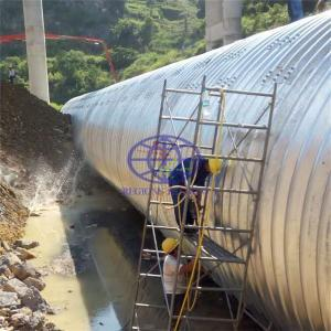 supply the corrugated steel culvert pipe to Madagascar