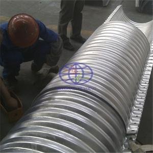 supply the flanged corrugated steel culvert to Papua New Guinea