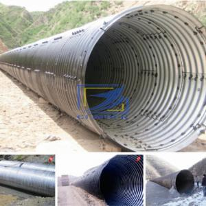 sell hot galvanized corrugated steel culvert pipe to Sudan