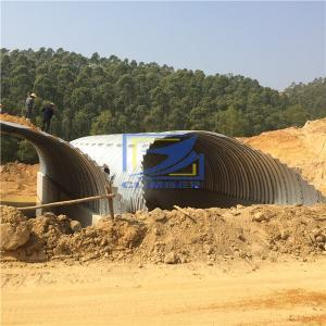 arch corrugated steel culvert pipe