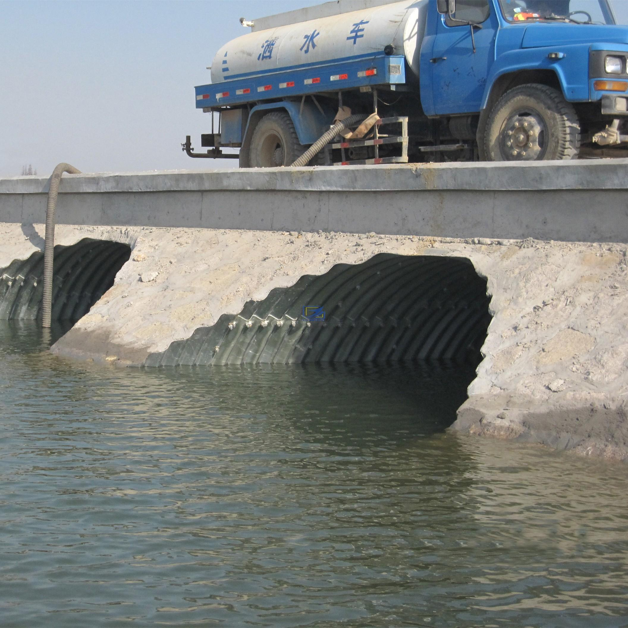 supply corrugated metal culvert pipe to South Africa