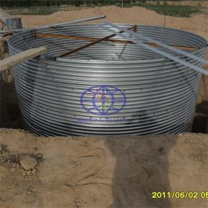 corrugated steel pipe for the wind turbine foundation