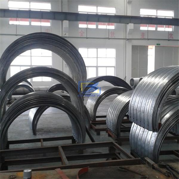 supply corrugated steel culvert pipe to Zambia
