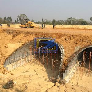 corrugated steel culvert with a super corrugation