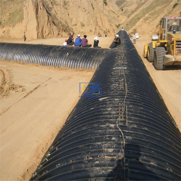 supply corrugated steel culvert pipe to Malaysia
