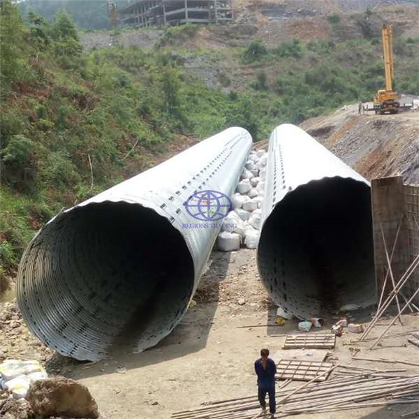 corrugated steel culvert have a same quality with Armco