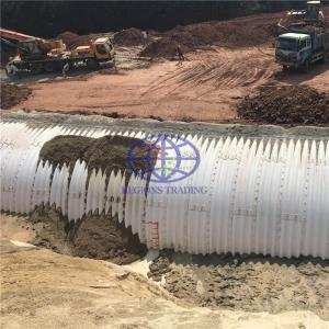 supply corrugated steel culvert pipe  to South africa