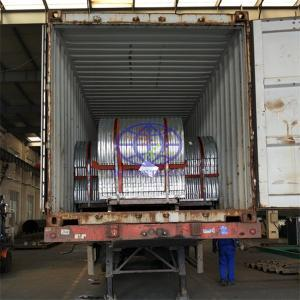 corrugated steel culvert ready for shiping to Kenya