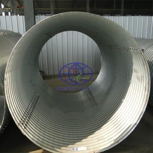 supply corrugated steel culvert pipe to Austrilia