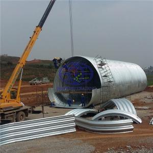 supply corrugated steel culvert pipe to Timor Leste