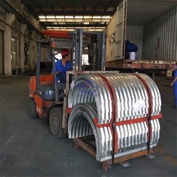 the corrugated steel culvert pipe inspected by SGS