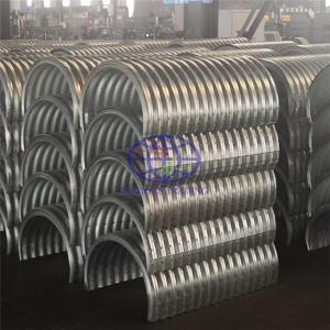 supply the corrugated steel culvert to UN