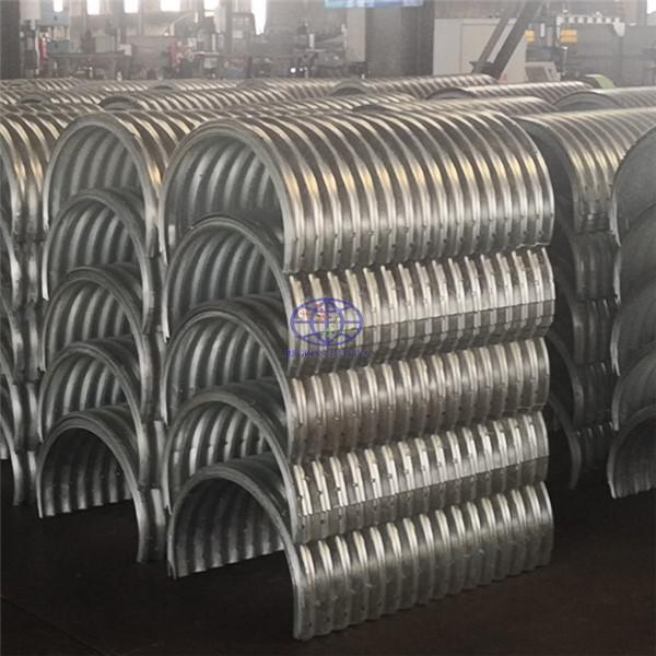 supply corrugated steel culvert pipe to Tanzania