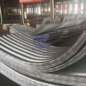 corrugated steel plate for the steel culvert pipe