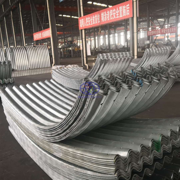 supply corrugated steel culvert pipe assembled by structural plate