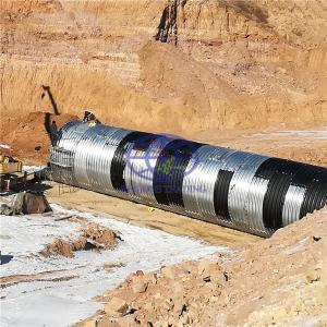 produce the corrugated steel culvert pipe according to AASHTO M36