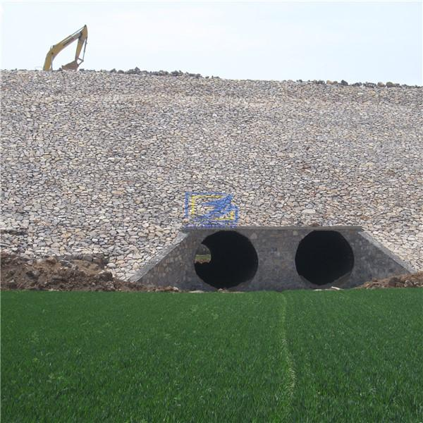 big galvanized  corrugated metal culvert pipe from China manufacturer