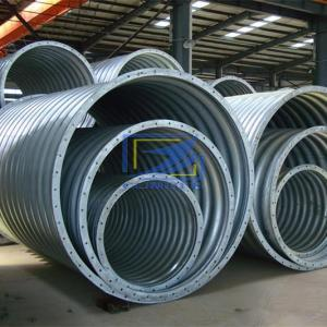 Drainage helical corrugated steel culvert pipe