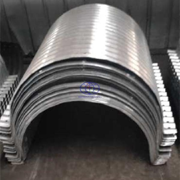supply flanged nestable galvanzied steel culverts to Australia