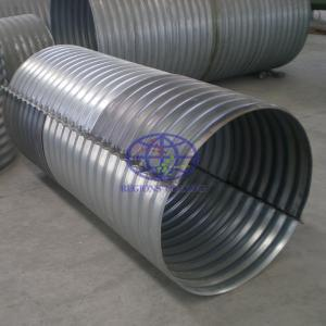 AS/NZS 2041 standard flanged corrugated steel culvert supply to Australia