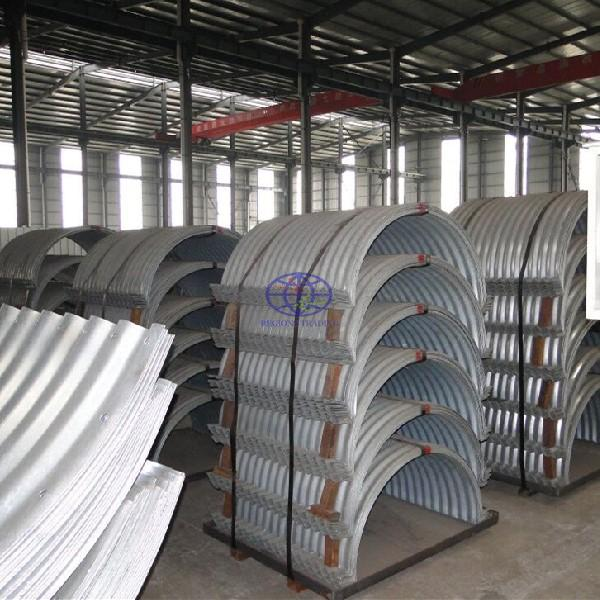 supply flanged nesteble corrugated steel pipe to Fiji and Vanuatu