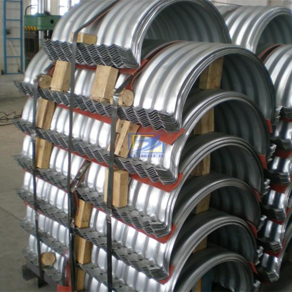 flanged nestable corrugated pipe used as the drainage pipe