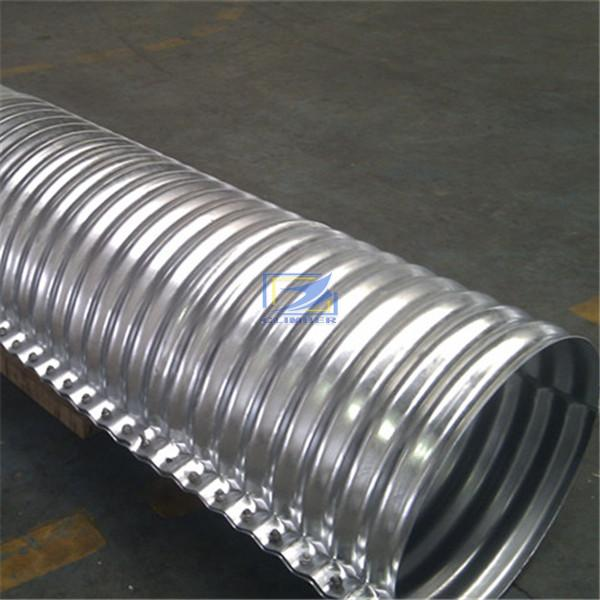 flanged nestable corrugated steel pipe in Australia