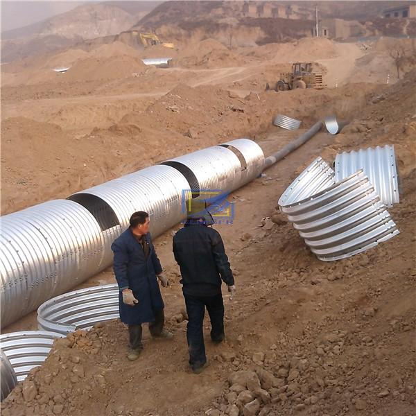 galvanized culvert used in UAE
