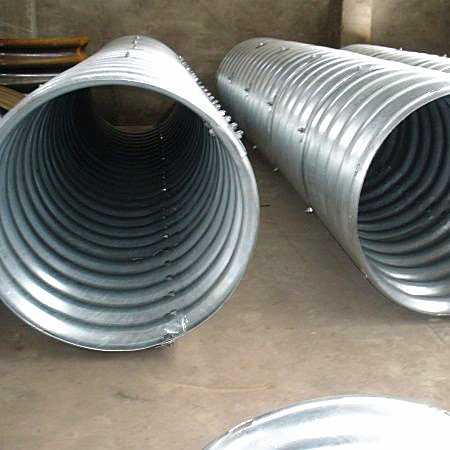 Galvanized corrugated steel culvert pipe & Galvanized corrugated steel culvert pipe China Galvanized ...
