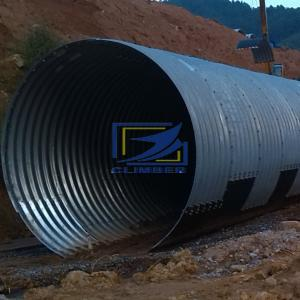 supply corrugated metal culvert pipe to Uganda