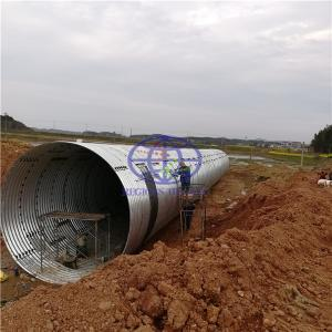 supply steel galvanzied culvert  to South Sudan
