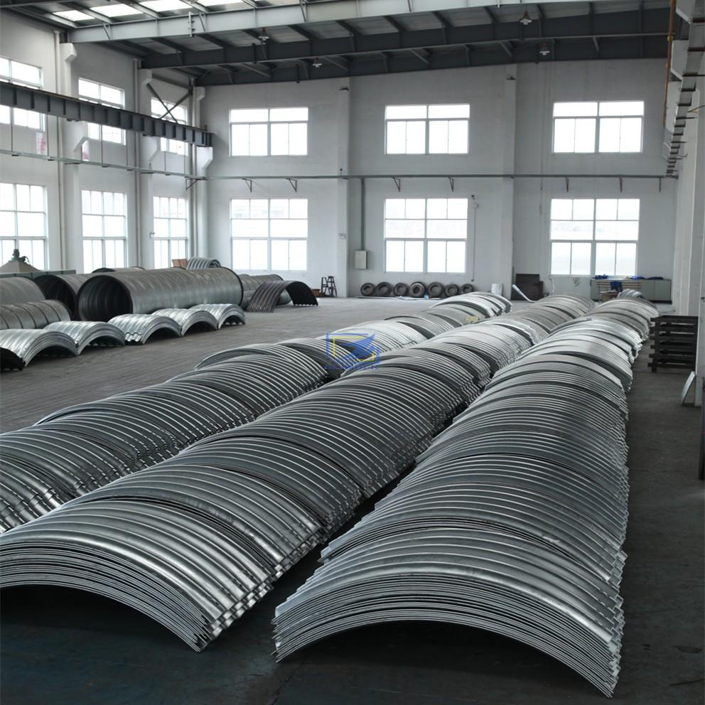 supply the corrugated steel pipe to South Sudan