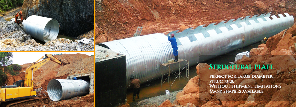 Culvert  Pipe (Structural plate)