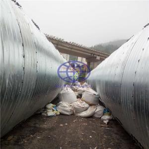 corrugated steel culvert for African standard