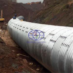corrugated pipe culvert for sale