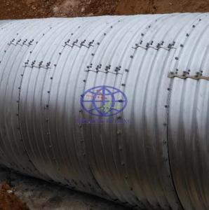 Culvert Corrugated Galvanized Pipe