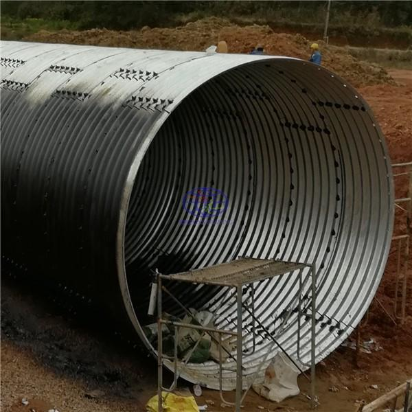 supply the corrugated steel culvert pipe to Libiria